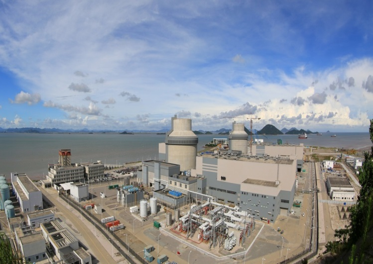 Units 1 and 2 of Sanmen Nuclear Power Plant Designed by East